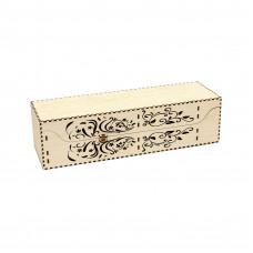 Винная коробка горизонтальная
