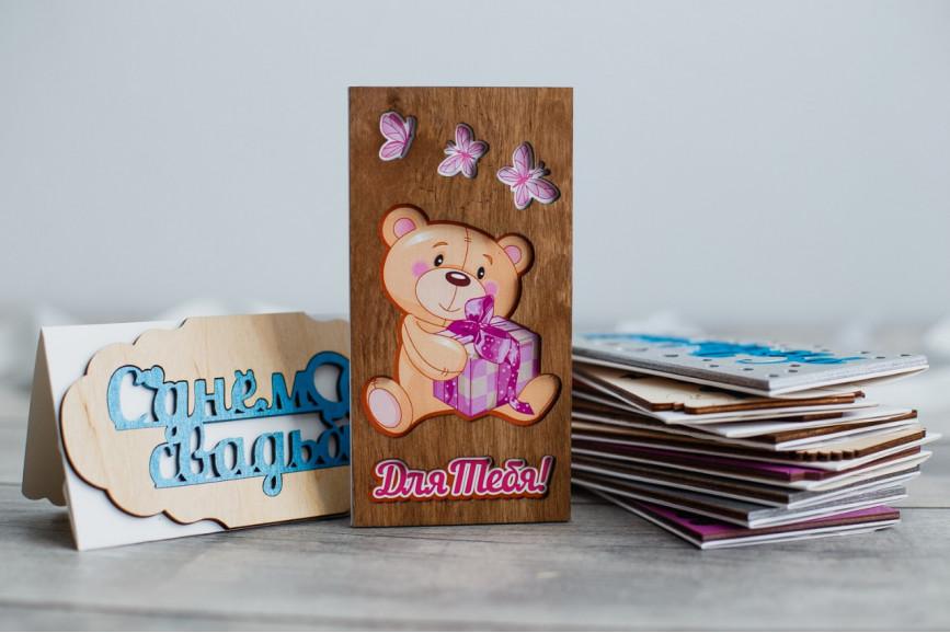 Деревянный конверт резной - ДКР