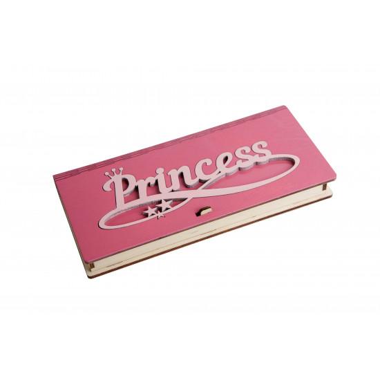 """Конверт деревянный - КД - """"Princess"""""""