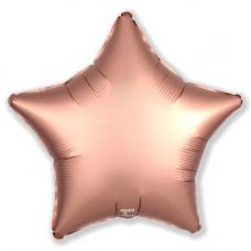 Шар Agura Звезда Розовое золото (19д. 48см. 25шт)