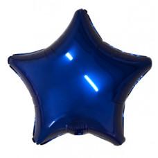 Шар Agura Звезда Темно-синий (19д. 48см. 25шт)