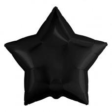 Шар Agura Звезда Черный (19д. 48см. 25шт)