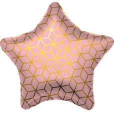 Шар Agura Звезда Геометрия с рисунком (19д. 48см. 25шт)